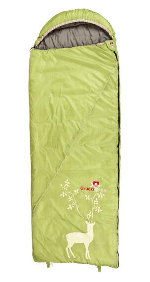 Grüezi-Bag Cloud Slaapzak groen
